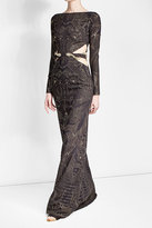 Roberto Cavalli Embellished Dress with Cut-Out Sides