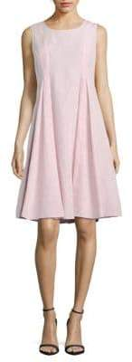 Lafayette 148 New York Pamina Radicchio Solid Dress
