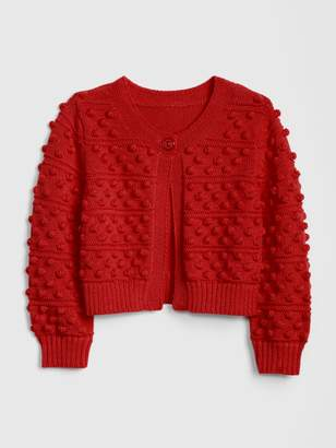 Gap Baby Popcorn-Knit Cardi Sweater