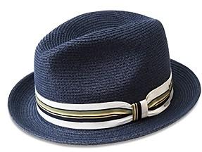 Bailey Of Hollywood Salem Straw Braid Fedora Hat