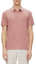Theory Men's Bron Zephyr Slub Linen Polo