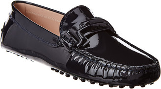 Tod's TodS Double T Gommino Patent Driving Shoe