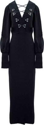 Dion Lee Military Blouson Evening Dress
