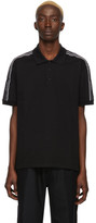 Givenchy Black Elastic Band Polo