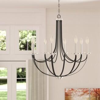 Siavash 8 - Light Candle Style Empire Chandelier Gracie Oaks