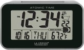 La Crosse Technology Atomic Digital Alarm Clock with Temp & Moon Phase
