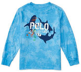 Ralph Lauren Boys 2-7 Cotton Shark Graphic Printed Tee