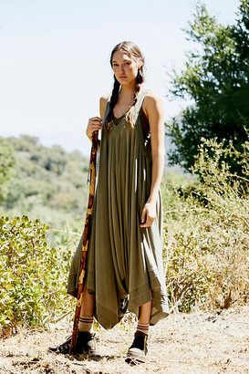 FREE PEOPLE MOVEMENT Seven Stars Waistless Jumpsuit By in Green Size M