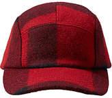 Filson Five Panel Mackinaw Wool Cap, One Size, Red