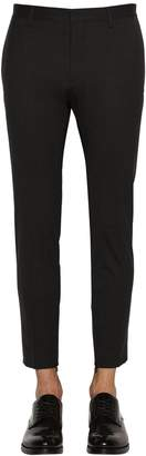 DSQUARED2 Skinny Dan Stretch Worsted Wool Pants