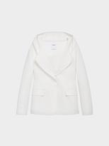 DKNY Hooded Blazer Jacket