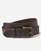 Eddie Bauer Men's American Sportsman Leather Belt