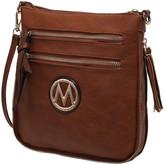 Mkf Collection By Mia K. MKF Collection by Mia K. Women's Handbags - Brown Expandable Tassel-Accent Crossbody Bag