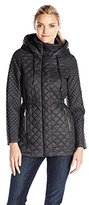 French Connection Women's Mary Kate Quilted Jacket with Hood
