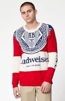 Junk Food Clothing Budweiser Sugar Crew Neck Sweater