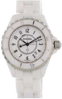 Chanel J12 Quartz White Ceramic Watches