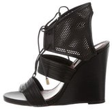 Derek Lam Multistrap Lace-Up Wedges