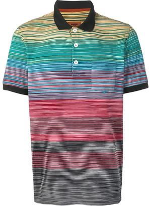 Missoni Striped Polo Shirt