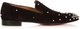 Christian Louboutin Degra spike-embellished slip-on shoe