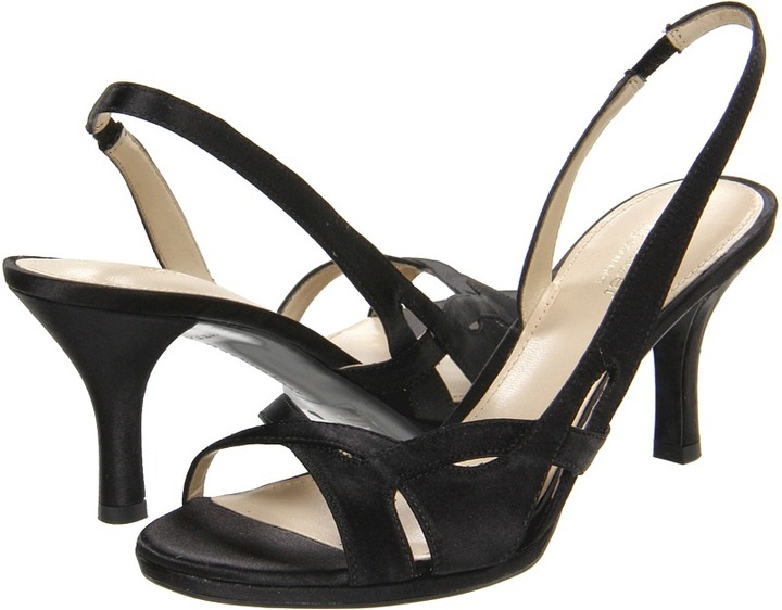 Naturalizer Kadie (Black Fabric) - Footwear