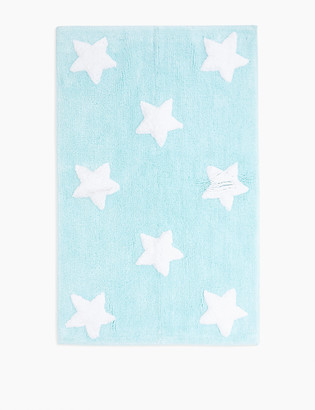 Marks and Spencer Cotton Star Pattern Bath Mat