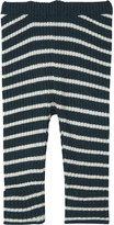 Bobo Choses Striped knitted wool-blend leggings 3-24 months