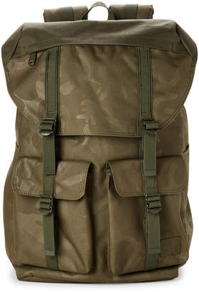 Herschel Olive Buckingham Camo Laptop Backpack