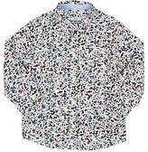 "Paul Smith Hole Punch""-Print Cotton Shirt"