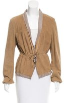 Brunello Cucinelli Lightweight Leather Jacket