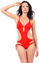Voda Swim Scarlet Envy Push Up Cutout Monokini