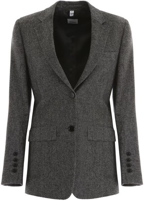 Burberry Single Breasted Blazer