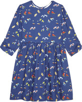 Stella McCartney Meadow boot-print dress 4-16 years