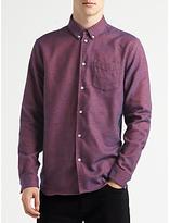Samsoe & Samsoe Liam Shirt, High Risk Red Melange