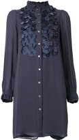 Paul & Joe flower applique shirt dress