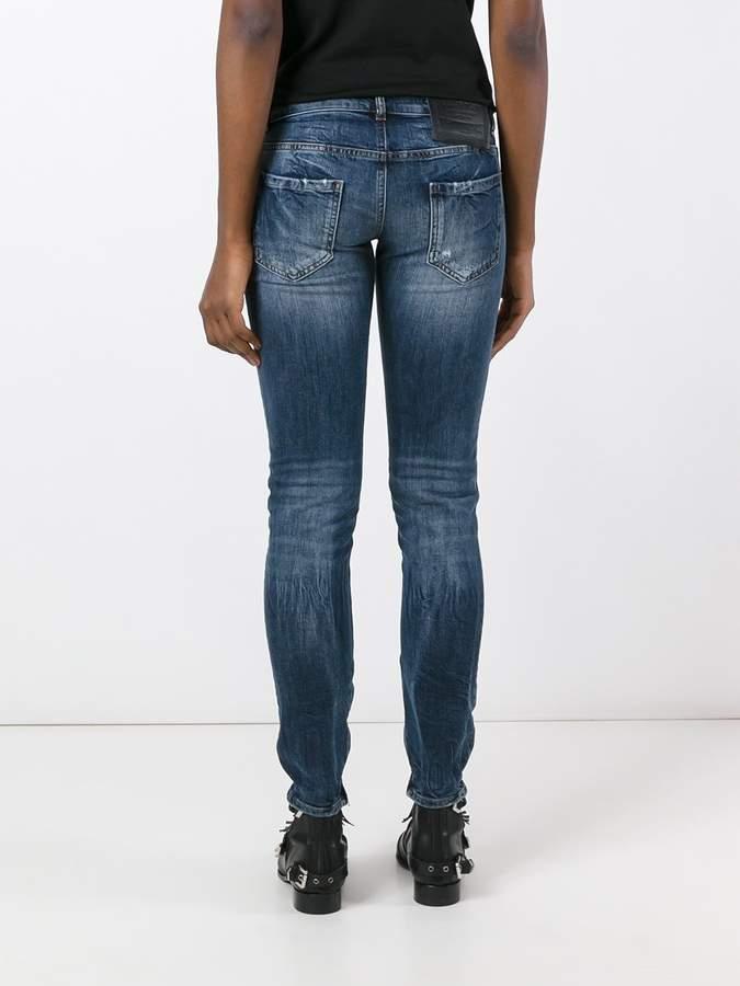 Philipp Plein distressed skinny jeans