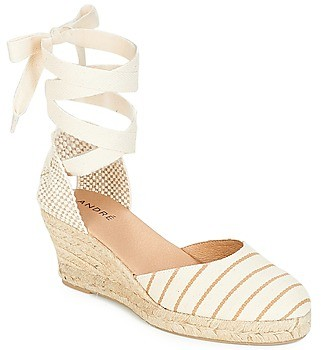 Andre AGLAE women's Espadrilles / Casual Shoes in Grey