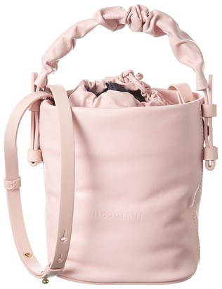 Nico Giani Adenia Mini Soft Leather Bucket Bag