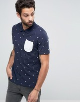 Jack and Jones All Over Print Polo