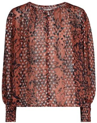 Velvet Ferris printed blouse