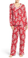 Carole Hochman Print Cotton Pajamas