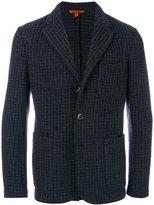 Barena houndstooth pattern blazer - men - Cotton/Polyamide/Wool - 48