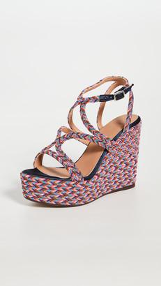 Castaner Juli Wedge Sandals