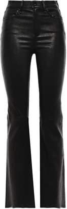 Rag & Bone Bella Stretch-leather Flared Pants