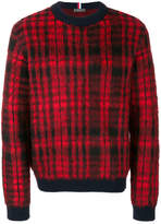 Tommy Hilfiger casual checked jumper
