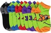 """Teenage Mutant Ninja Turtles Boys' """"Turtle Pack"""" 5-Pack Ankle Socks"""