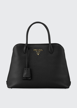 Prada Daino Tote Bag w/ Removable Crossbody Strap