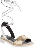Rebecca Minkoff 'Lindy' Lace-Up Sandal (Women)