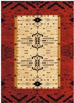 United Weavers Designer Contours Made True Arrow Pattern Rug