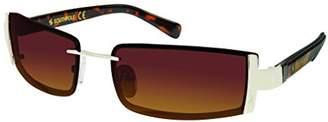 Southpole Men's 5004sp Gld Non-polarized Iridium Rimless Sunglasses