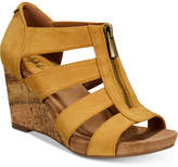 Style&Co. Style & Co Fettee Platform Wedge Sandals, Created For Macy's Women's Shoes